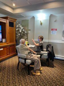vaccine station carlton house retirement home